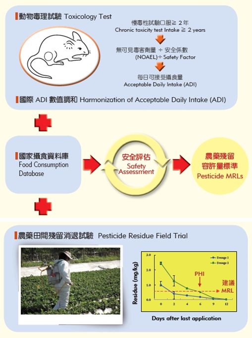 Assessment for Pesticide MRLs (Maximum Residue Limits) and PHI (Pre-harvest Interval)